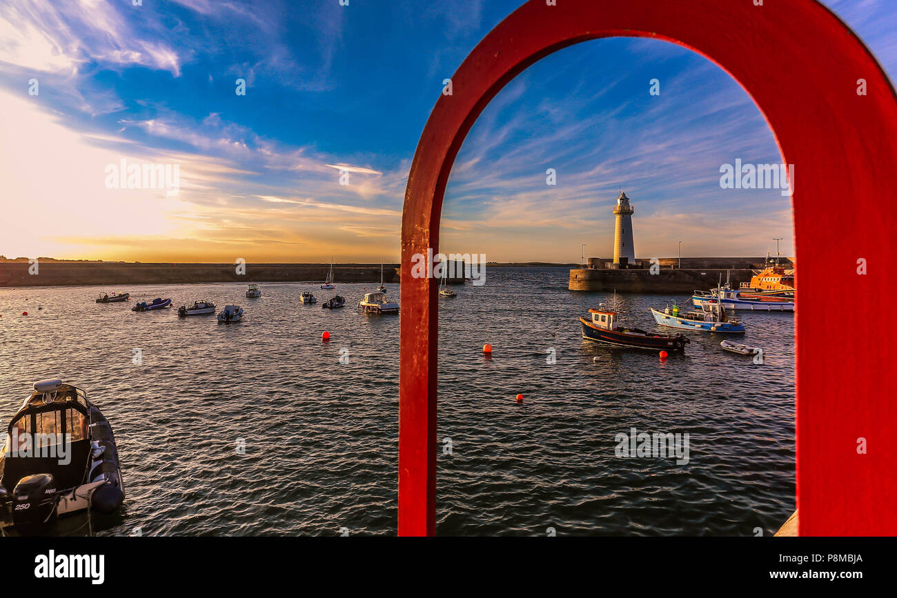 Summer evening @ Donaghadee and Holywood Co. Down Northern Ireland. - Stock Image