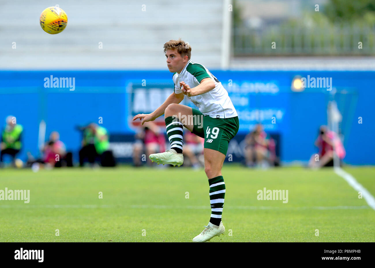 Celtic's James Forrest during the pre-season friendly match at the Tallaght Stadium. - Stock Image
