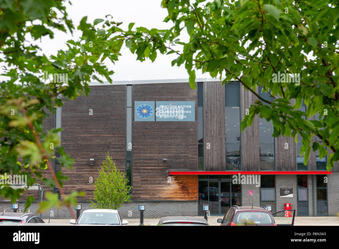Everyone Active Fitness and sports centre Cambourne, South Cambridgeshire, UK - Stock Image