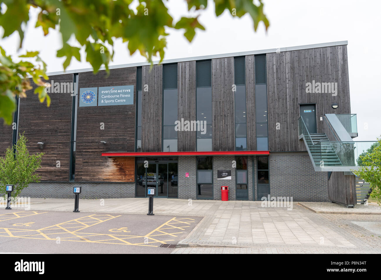 Everyone Active sports and fitness centre Cambourne, South Cambridgeshire, UK - Stock Image