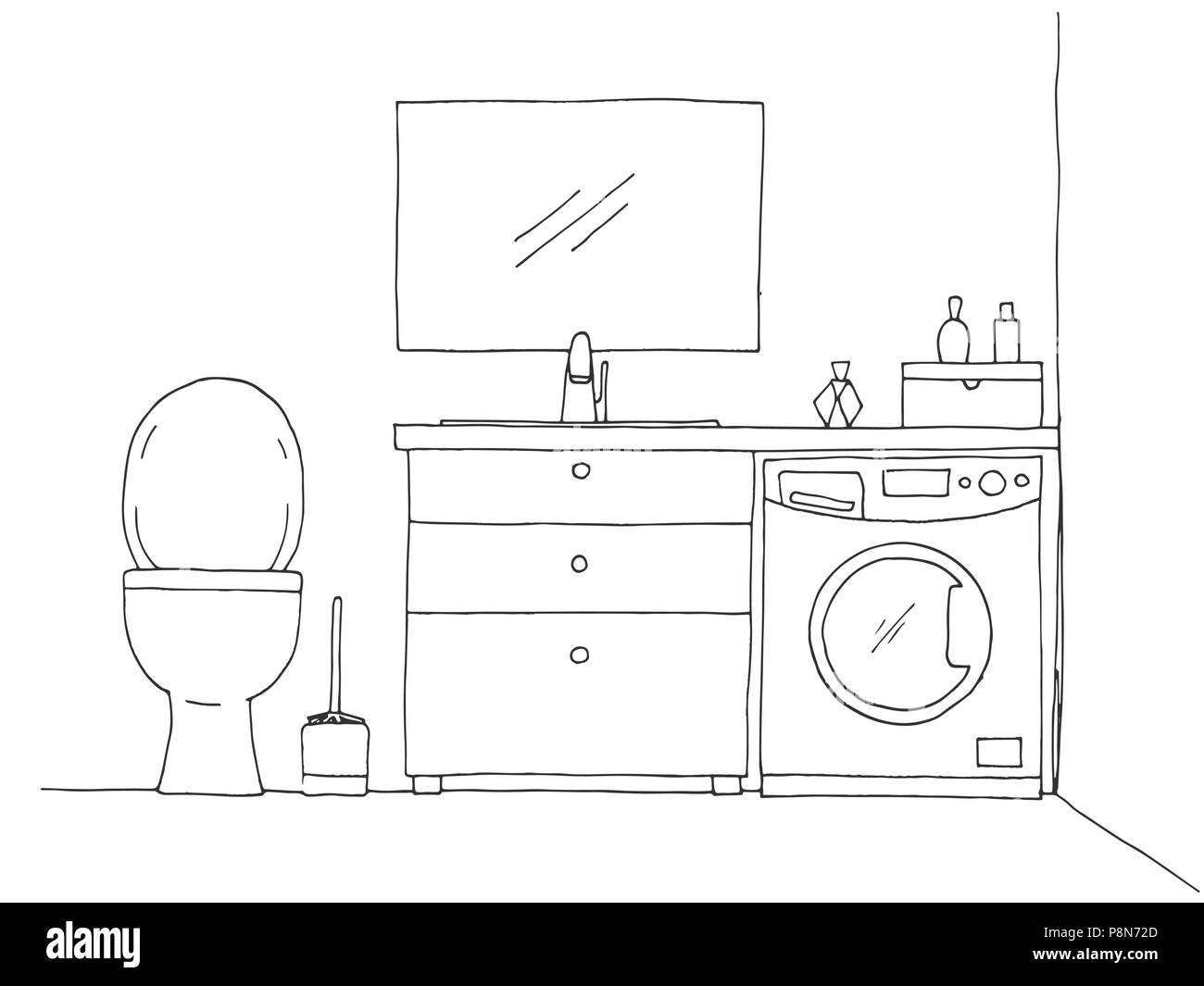 Hand Washing Stock Vector Images Alamy