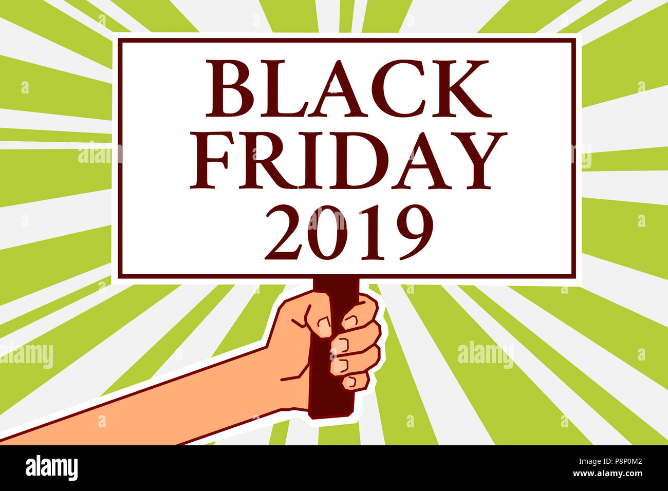 Word writing text Black Friday 2019. Business concept for ...