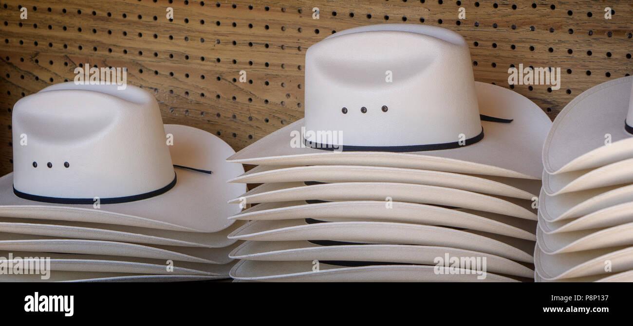 Cowboy hats Calgary Stampede Alberta Canada Stock Photo  211925483 ... 3533a7f7e88