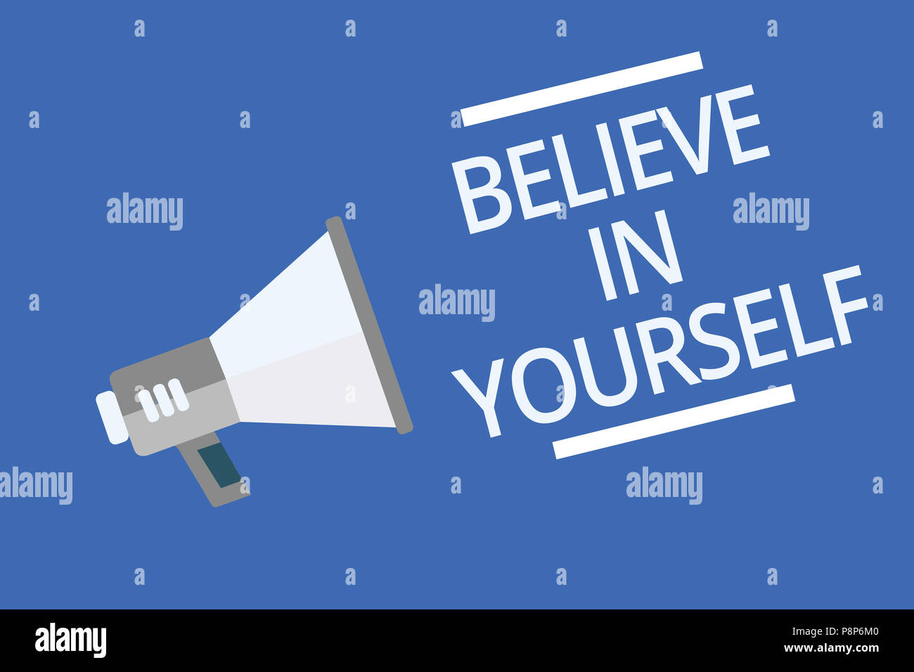 Text Sign Showing Believe In Yourself Conceptual Photo Encouraging