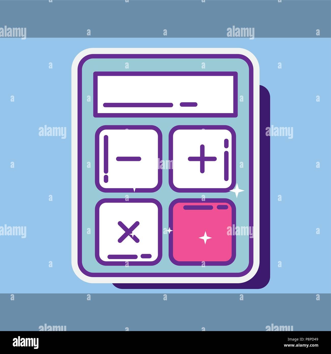 Financial Calculator Online >> Financial Calculator Maths Economy Icon Buy Online Vector