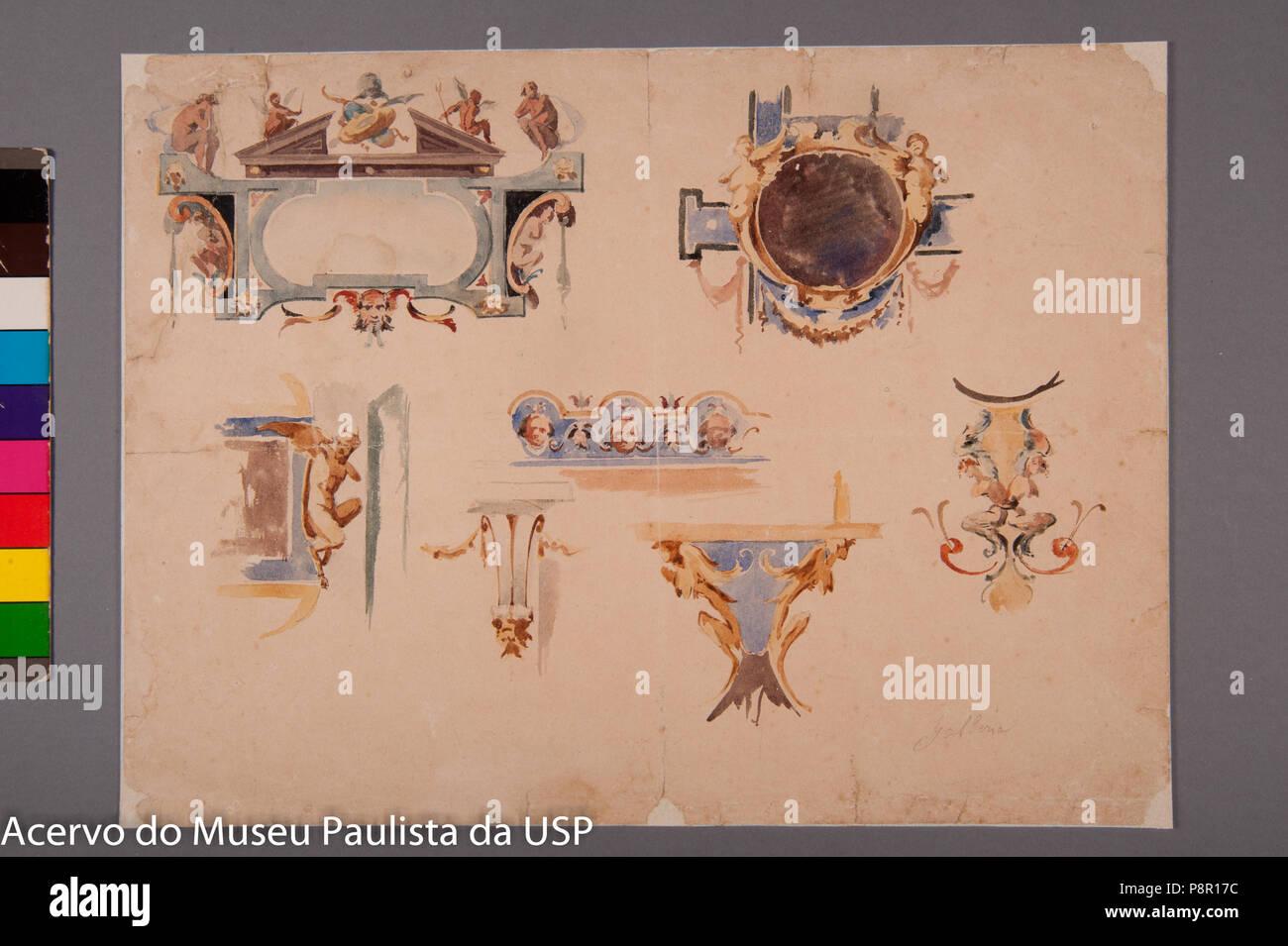 .   520 Sercelli, Oreste - Galleria - Stock Image