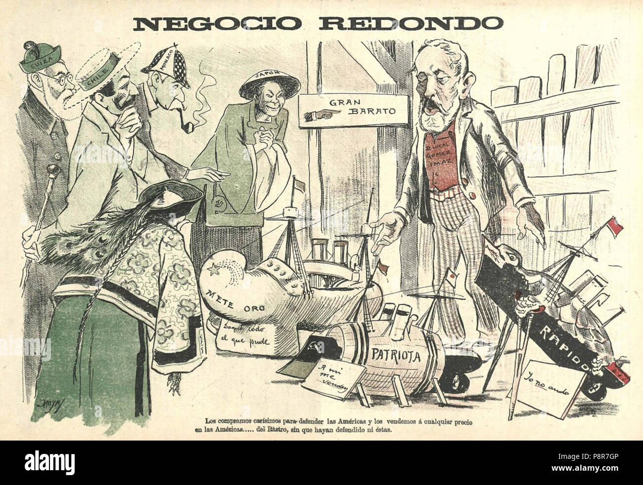 .   432 Negocio redondo, de Moya - Stock Image