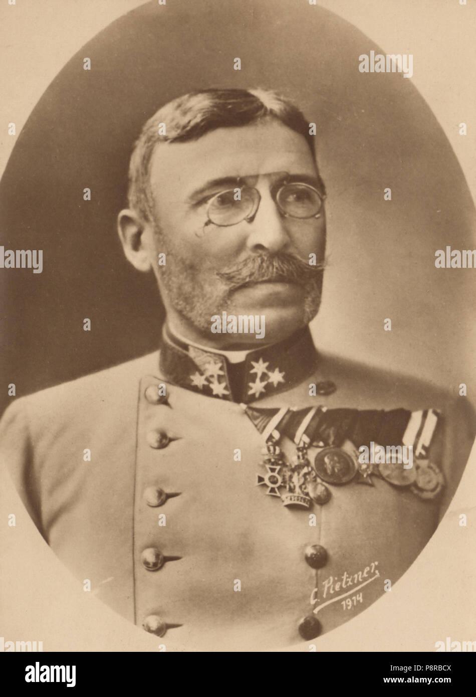 .   299 General Moritz von Auffenberg - Stock Image