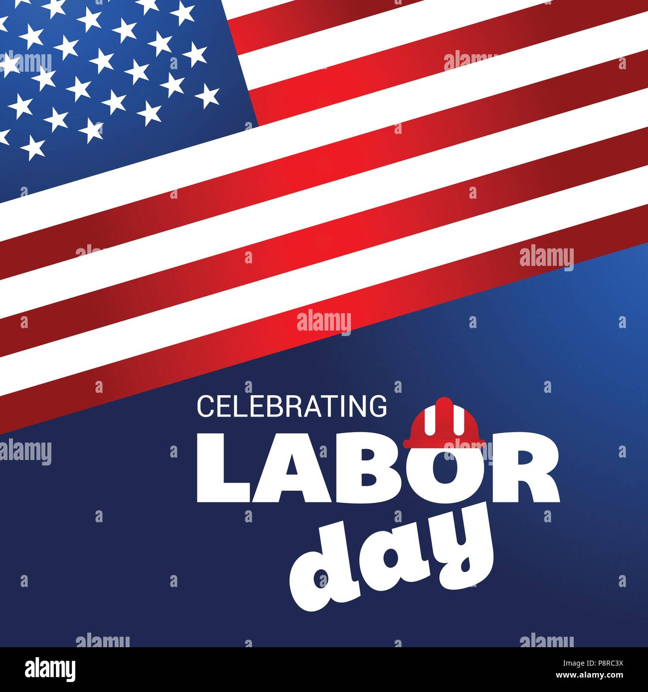 independence day card layout template eps10 vector background