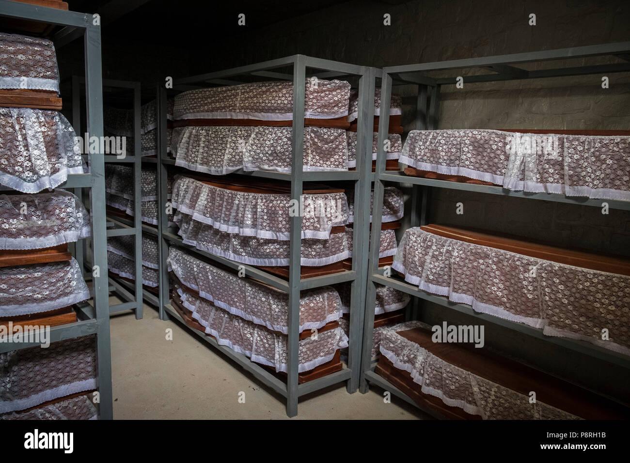Rwanda,Ntarama Memorial - Stock Image