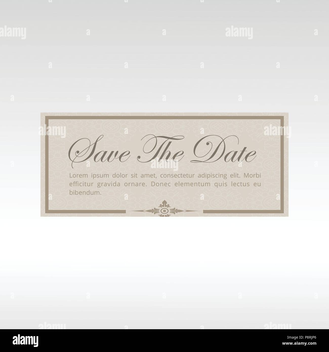 Save The Date For Wedding Invitation Card For Web Design And