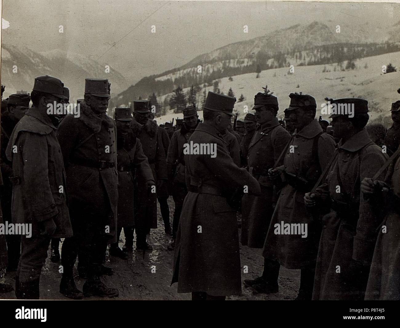 .   38 Ansprache an Mannschaften der Brigade Covin. (BildID 15584186) - Stock Image