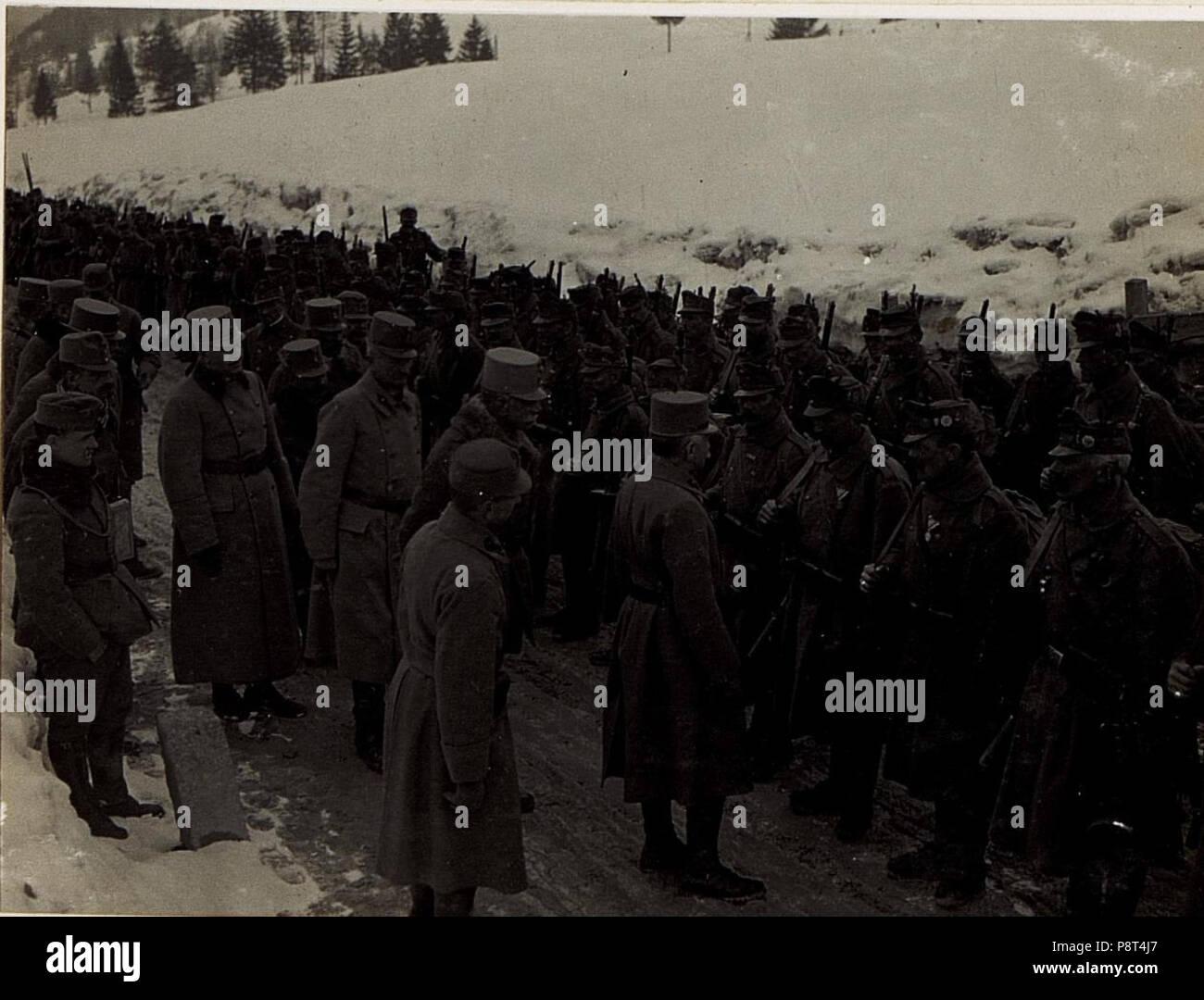 .   38 Ansprache an Mannschaften der Brigade Covin. (BildID 15584200) - Stock Image
