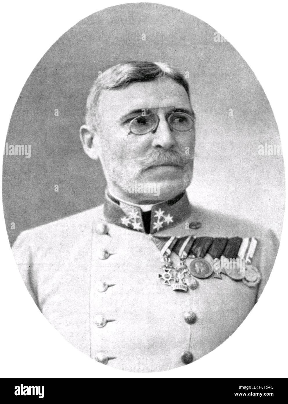 39 Armee-Inspektor GdI Moritz von Auffenberg 1914 Pietzner - Stock Image