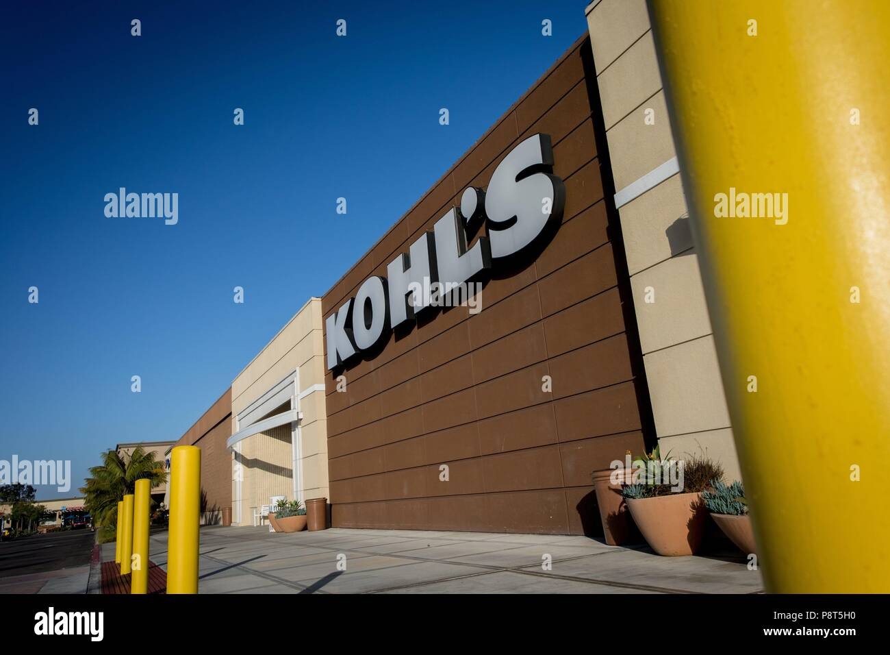 Kohls Department Store In San Diego In June 2018 Usage