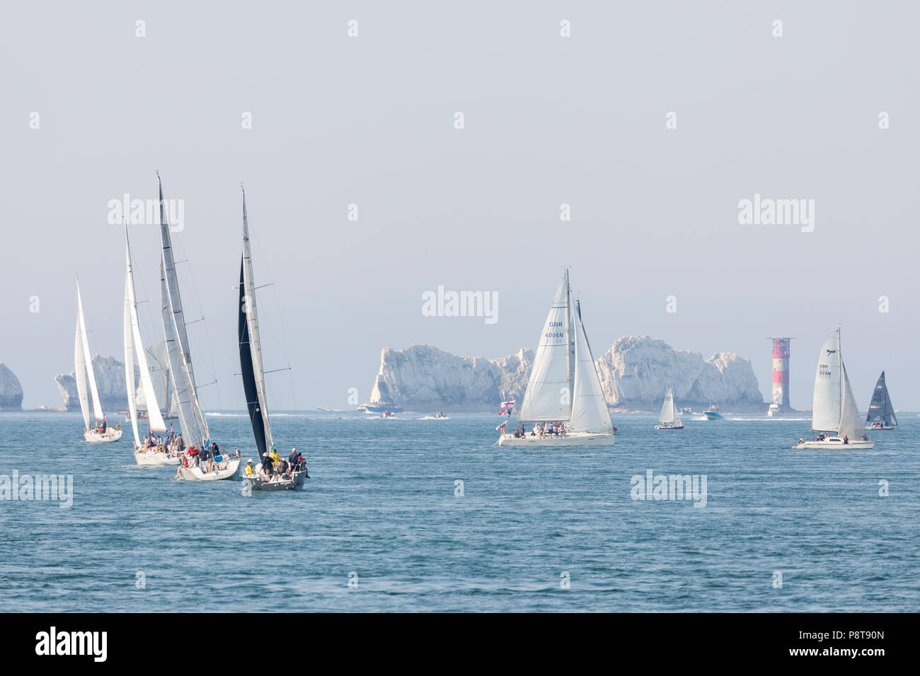 Jib and Tonic,GBR 4006N,GBR 528M, GBR 3027, 1029, - Stock Image
