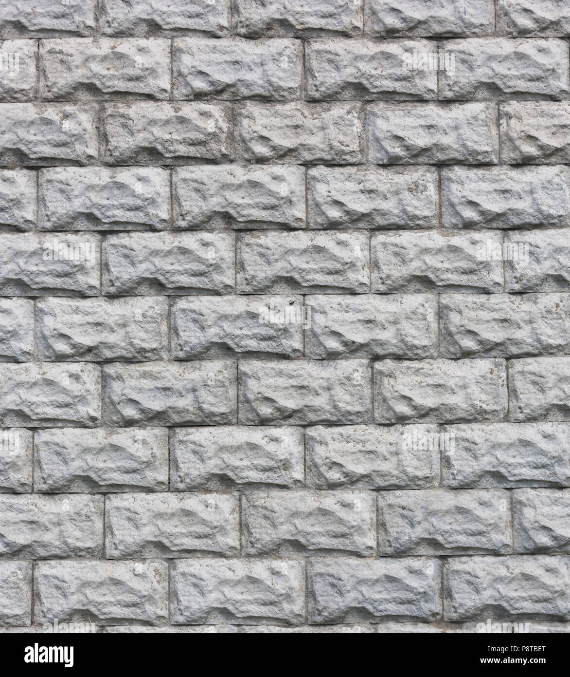 . stone bricks wall seamless pattern texture background Stock Photo