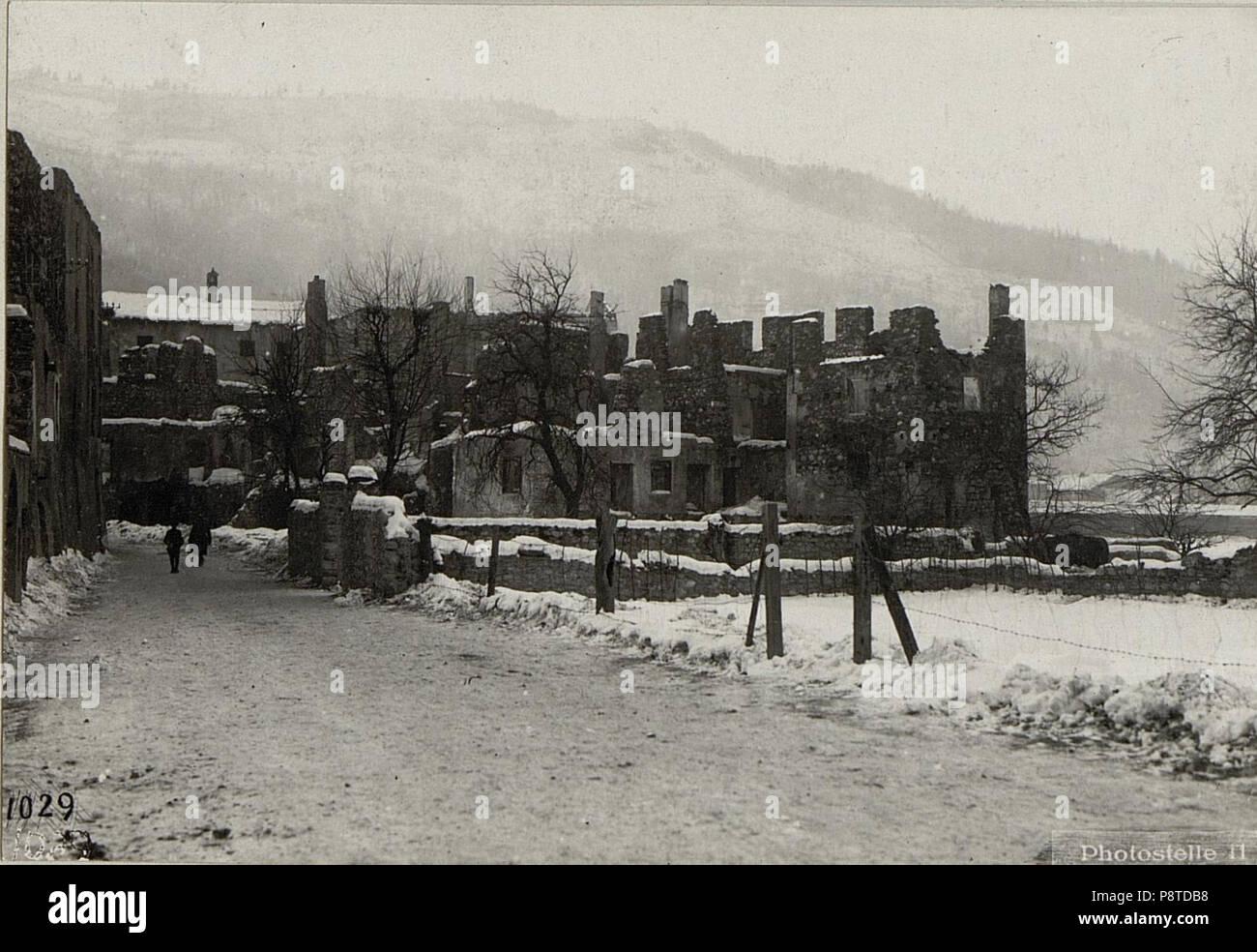 Abgebrannte Häuser. (BildID 15639508)   Stock Image