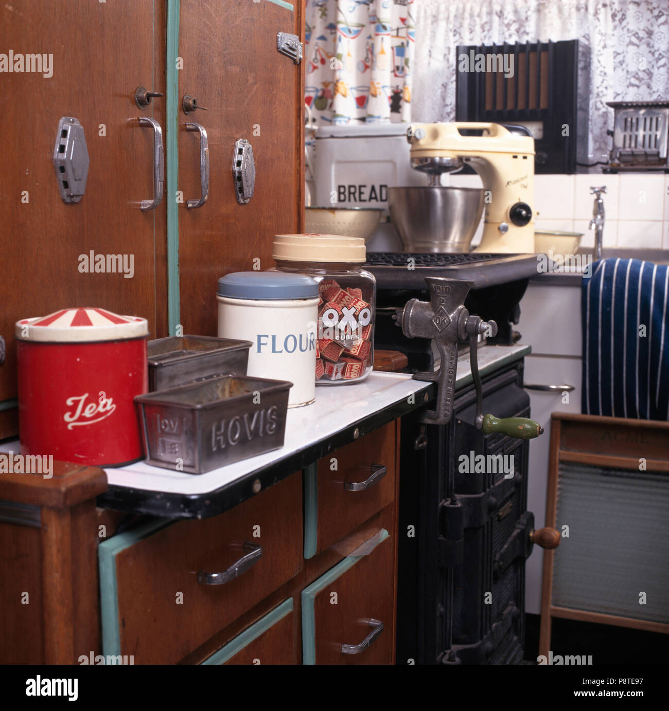 Kitchen Gallery Solihull: England In Fifties Stock Photos & England In Fifties Stock