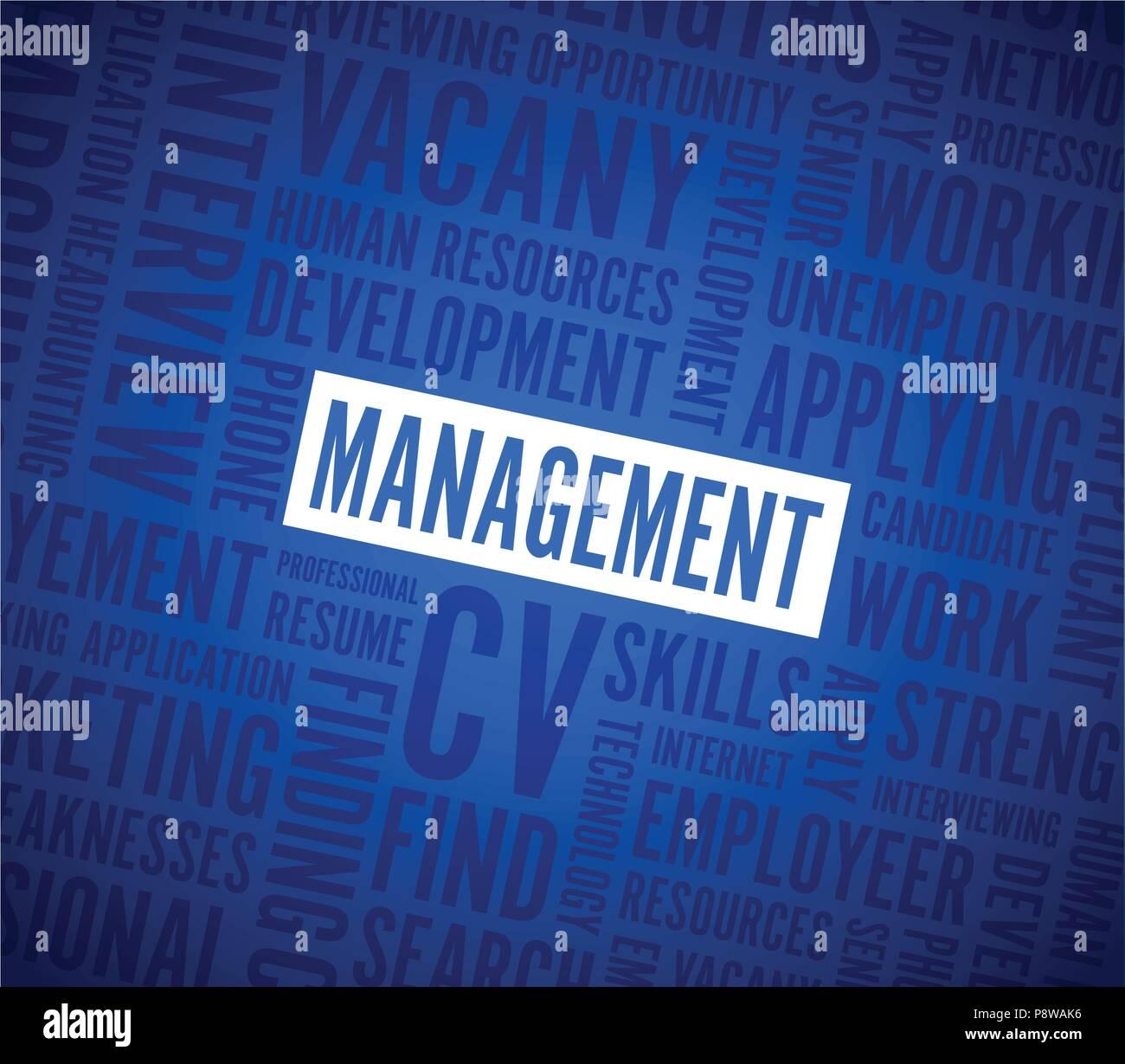 management text background - Stock Image