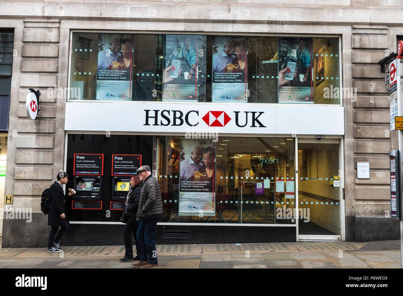 Hsbc Bank Branch In City Stock Photos & Hsbc Bank Branch ...