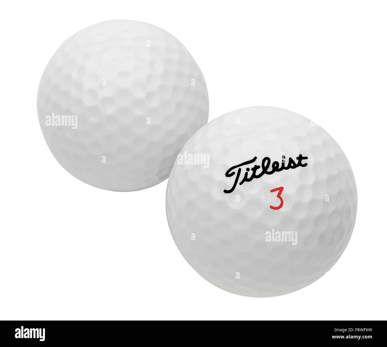 Titleist Golf Balls - Stock Image
