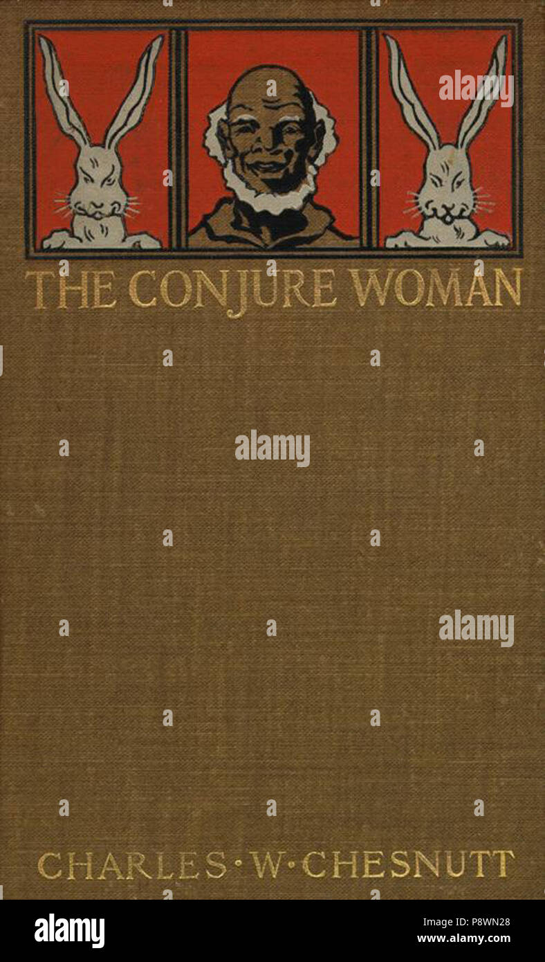 .   79 Conjure Woman book cover - Stock Image