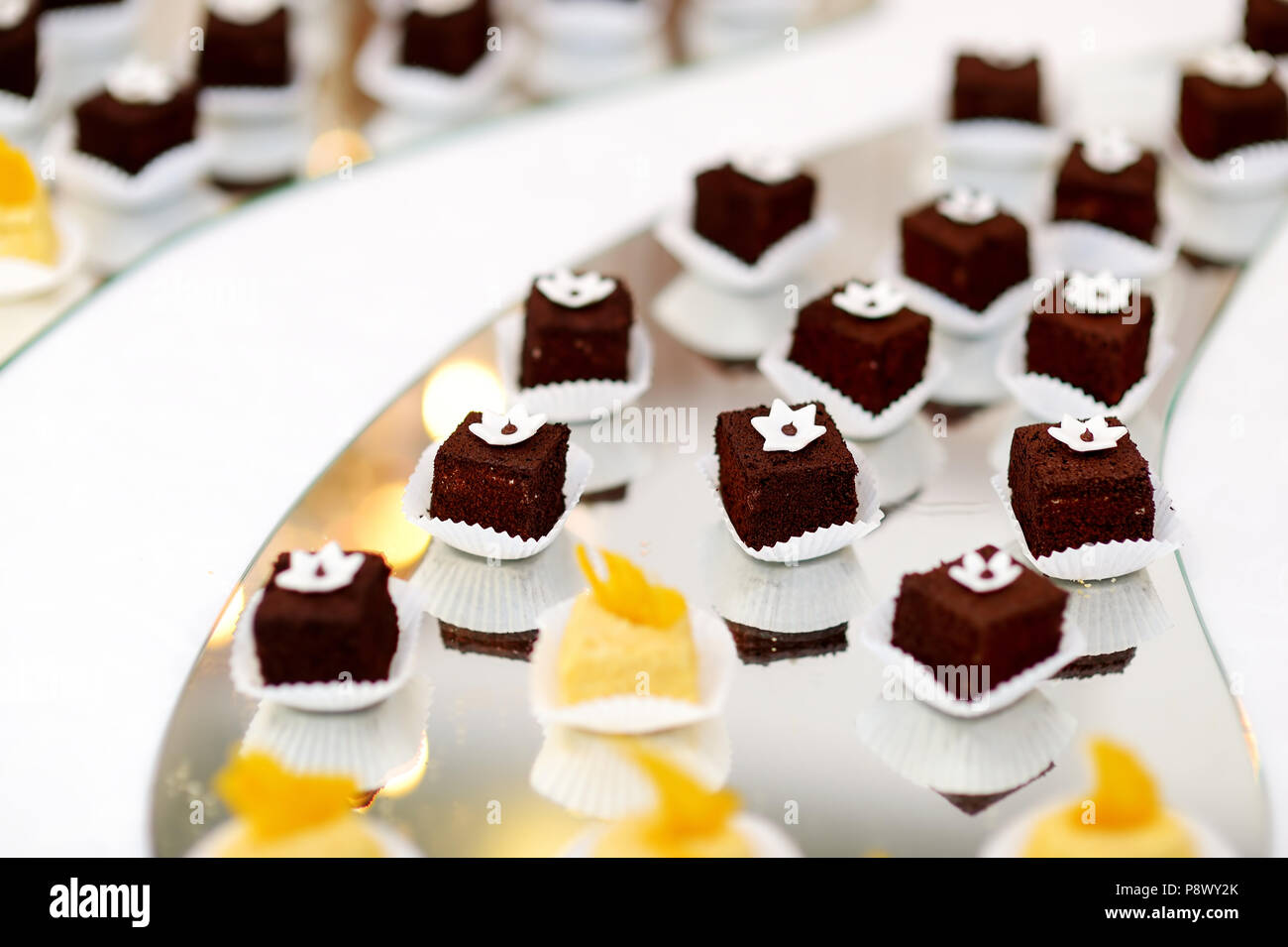 Tremendous Beautiful Desserts Sweets And Candy Table At Wedding Home Interior And Landscaping Synyenasavecom