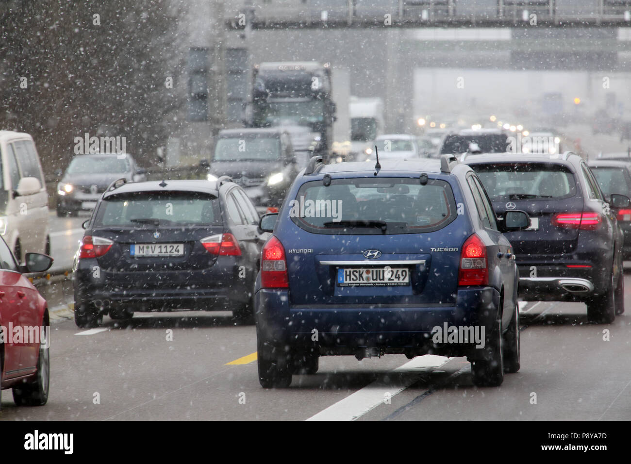 Traffic Accident Germany Stock Photos & Traffic Accident Germany