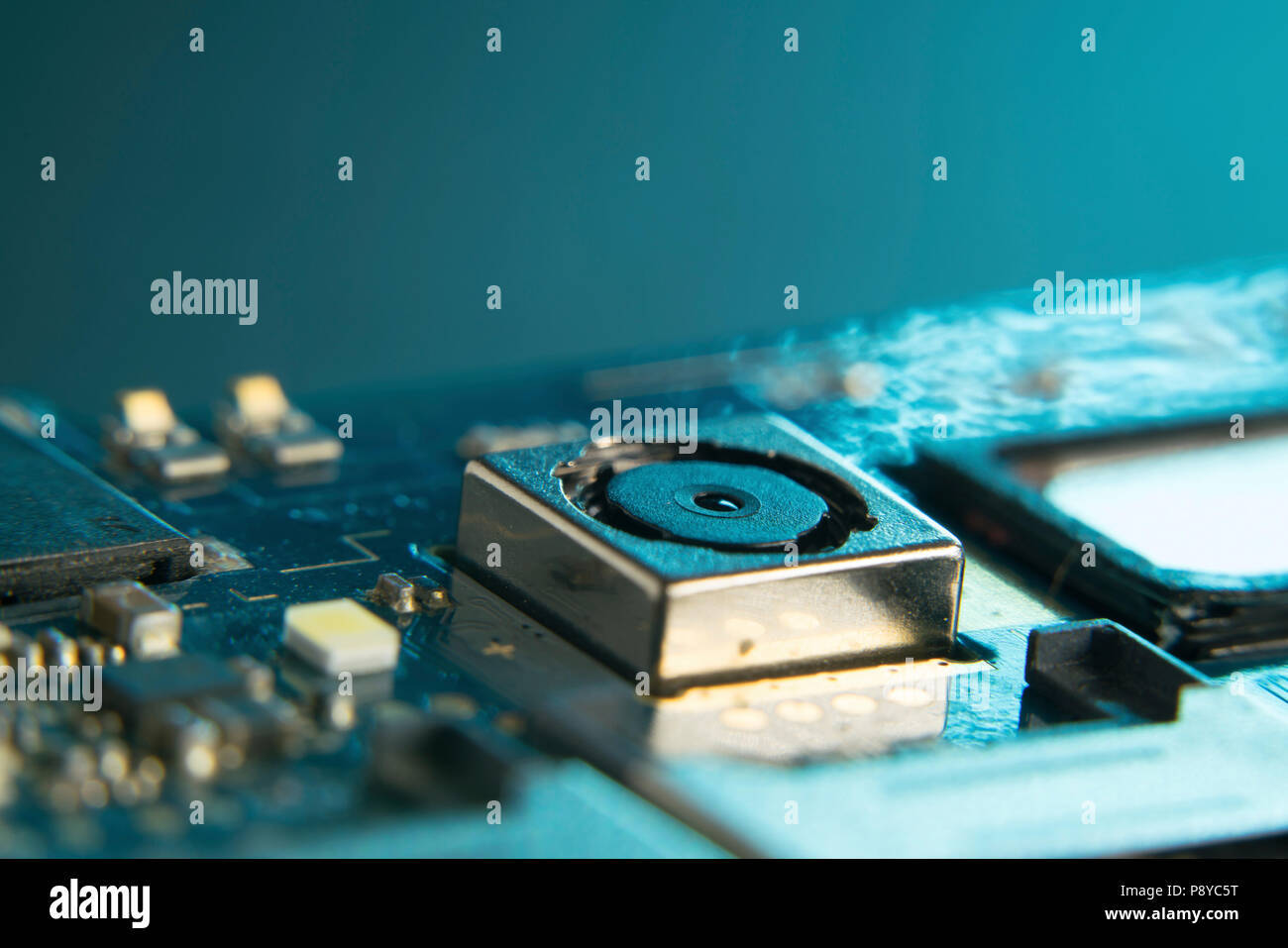 Mobile Phone Circuit Board Stock Photo 212043940 Alamy Cell