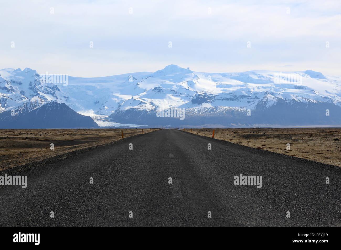 Icelandic View - Stock Image