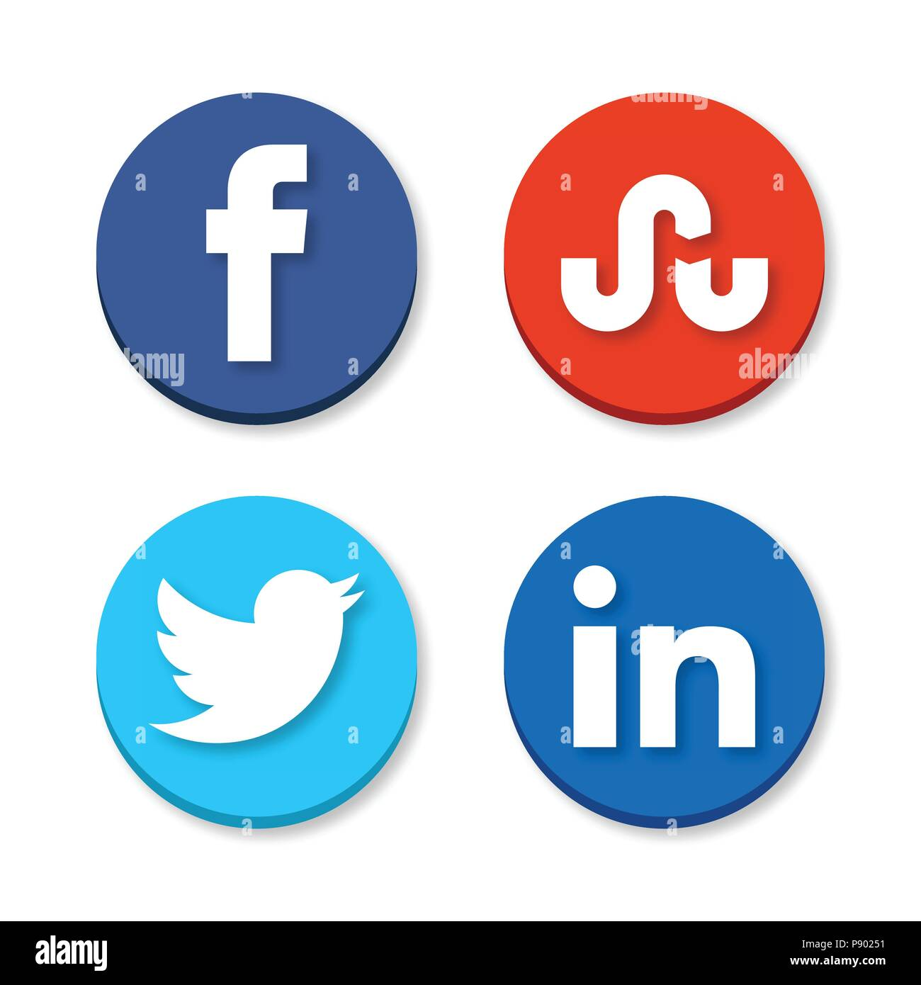 Linkedin Cut Out Stock Images Pictures Alamy