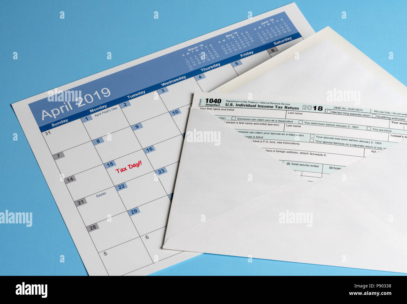 form 1040 mailing  Mailing Form Stock Photos & Mailing Form Stock Images - Alamy