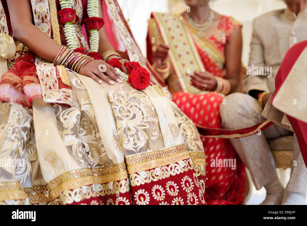 Amazing Hindu Wedding Ceremony Details Of Traditional Indian Wedding Beautifully Decorated Hindu Wedding Accessories Indian Marriage Traditions