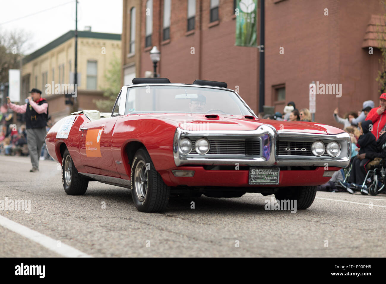 Pontiac Gto Stock Photos Images Alamy 1960 Judge Holland Michigan Usa May 12 2018 A Red Classic Muscle