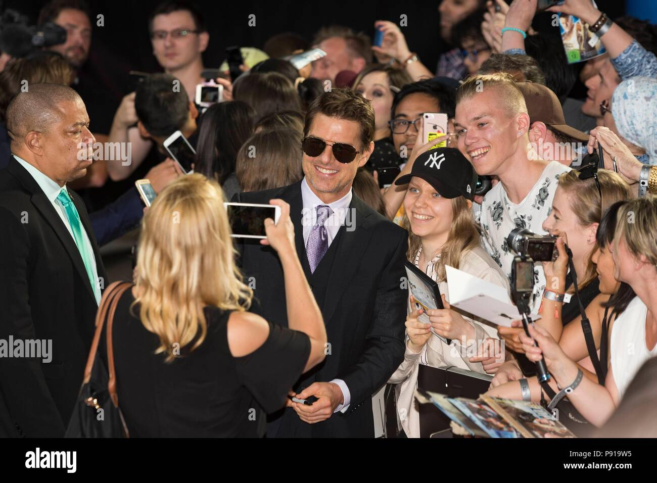 Tom Cruise attends MISSION: IMPOSSIBLE - FALLOUT, UK Premiere. London, UK. 13/07/2018 | usage worldwide Stock Photo