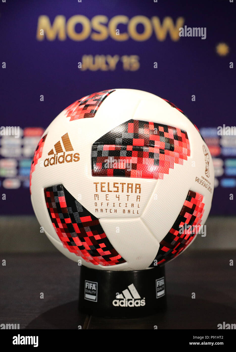 Moscow Russia Th July Football World Cup France Press - Conference table football