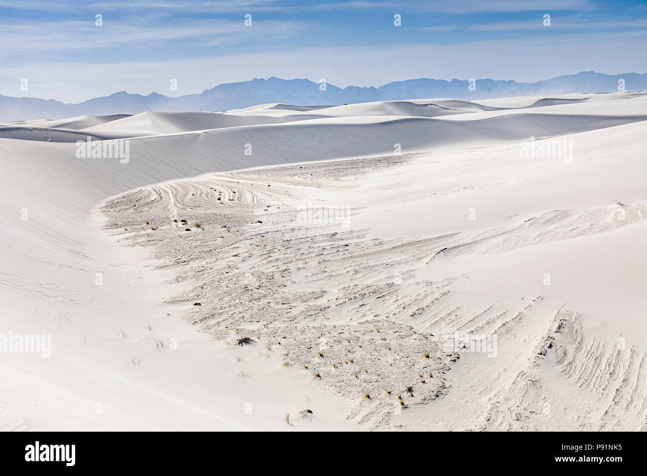White Sands, New Mexico, USA - Stock Image