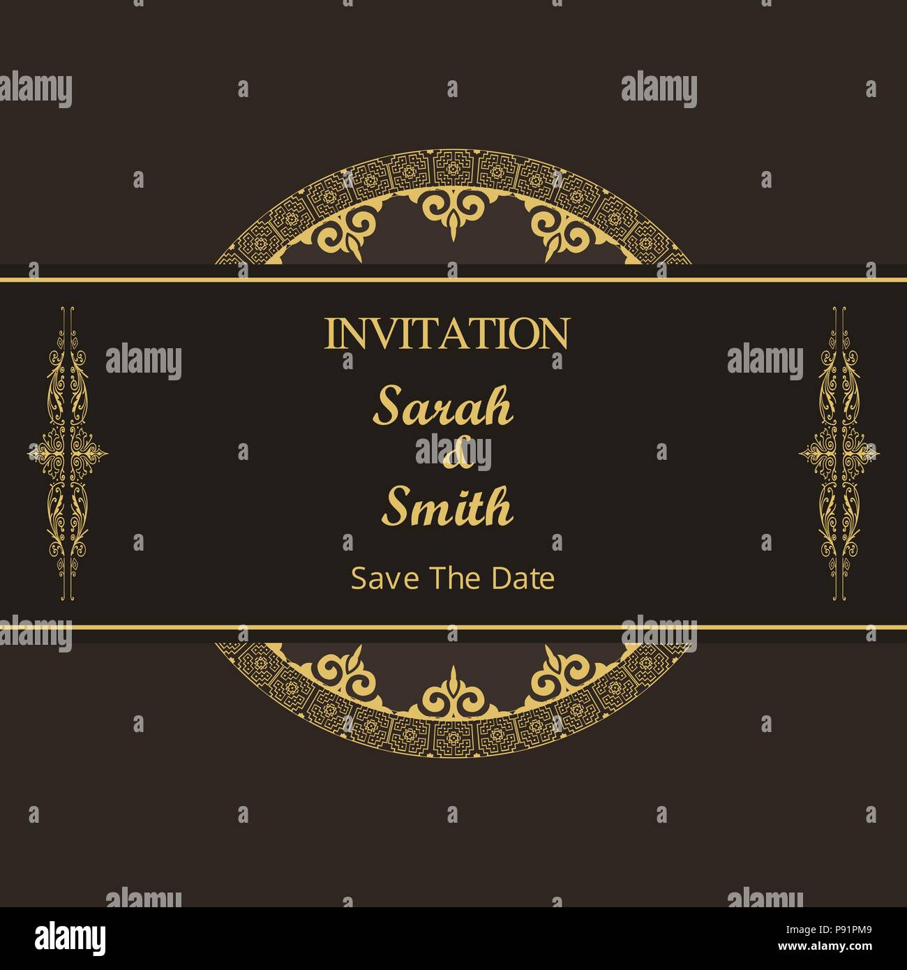 Wedding Invitation Thank You Card Save The Date Card For Web