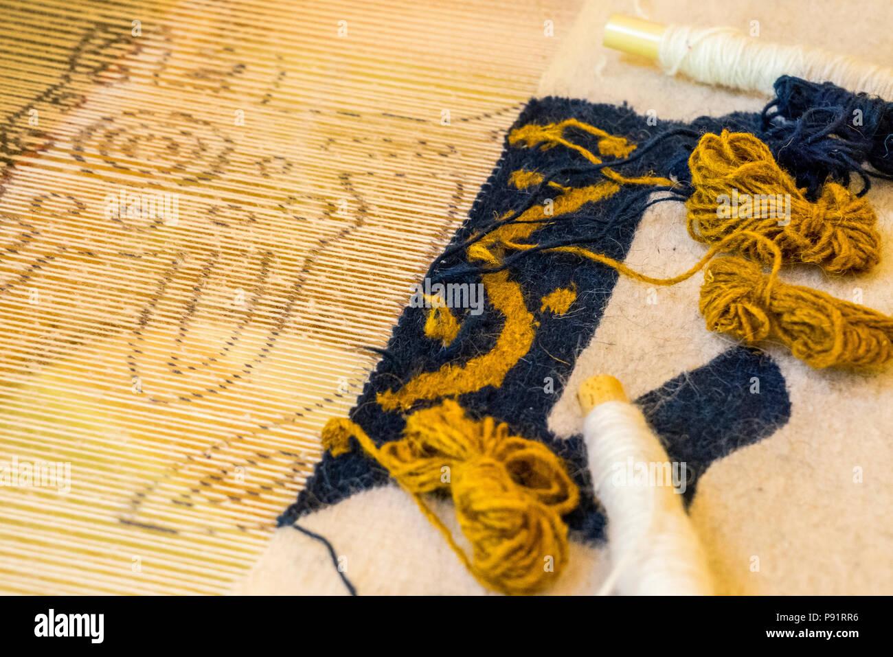 Rug Weaving Stock Photos Amp Rug Weaving Stock Images Alamy
