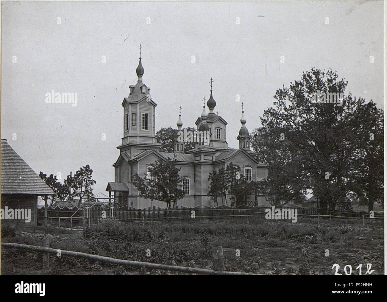.   487 Russische Kirche in Karasin (BildID 15694377) - Stock Image