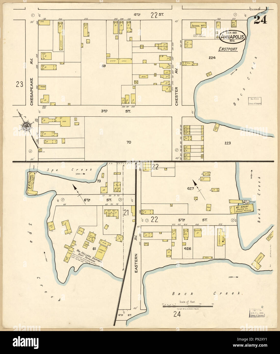 491 Sanborn Fire Insurance Map from Annapolis, Anne Arundel ... on map of marion county, map of clarke county, map of st mary's county, map of rappahannock county, map of aa county, map of harford county, map of jackson county, map of kings county, map of calvert county, map of clark county, map of duval county, map of laurel county, map of baltimore county public schools, map of baltimore county md, map of garrett county, map of talbot county, map of preston county, map of caroline county, map of prince george's county, map of howard county md,