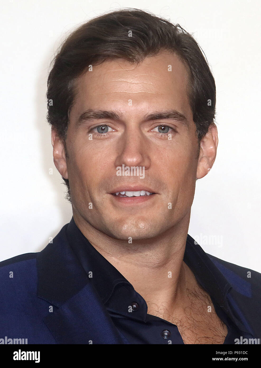 Jul 13, 2018  - Henry Cavill attending 'Mission Impossible - Fallout' UK Premiere at BFI IMAX in London, England, UK Stock Photo