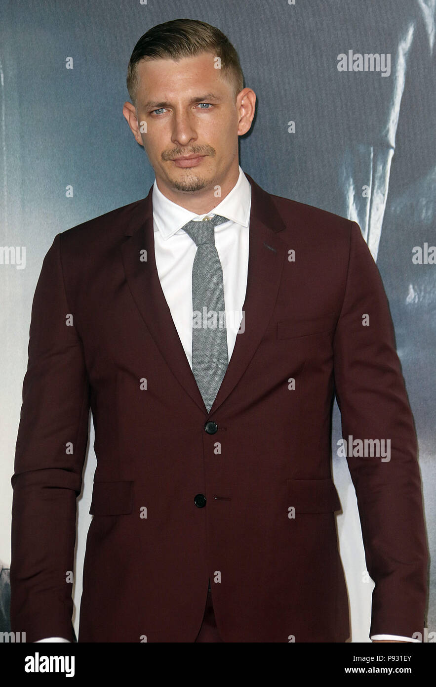 Jul 13, 2018  - Frederick Schmidt attending 'Mission Impossible - Fallout' UK Premiere at BFI IMAX in London, England, UK - Stock Image