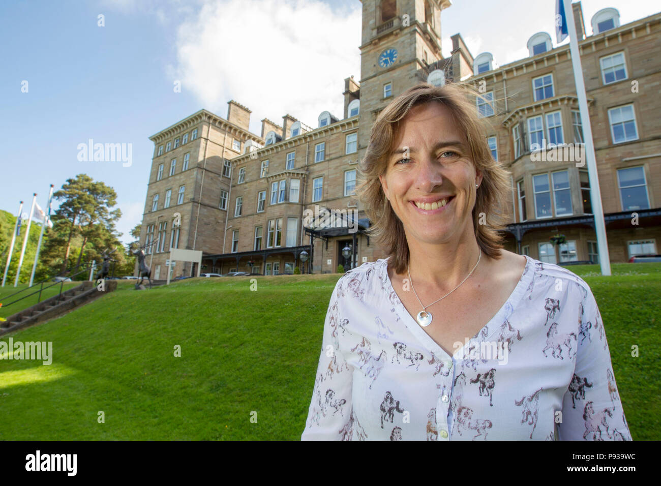 Katherine Grainger at Dunblame Hydro - Stock Image
