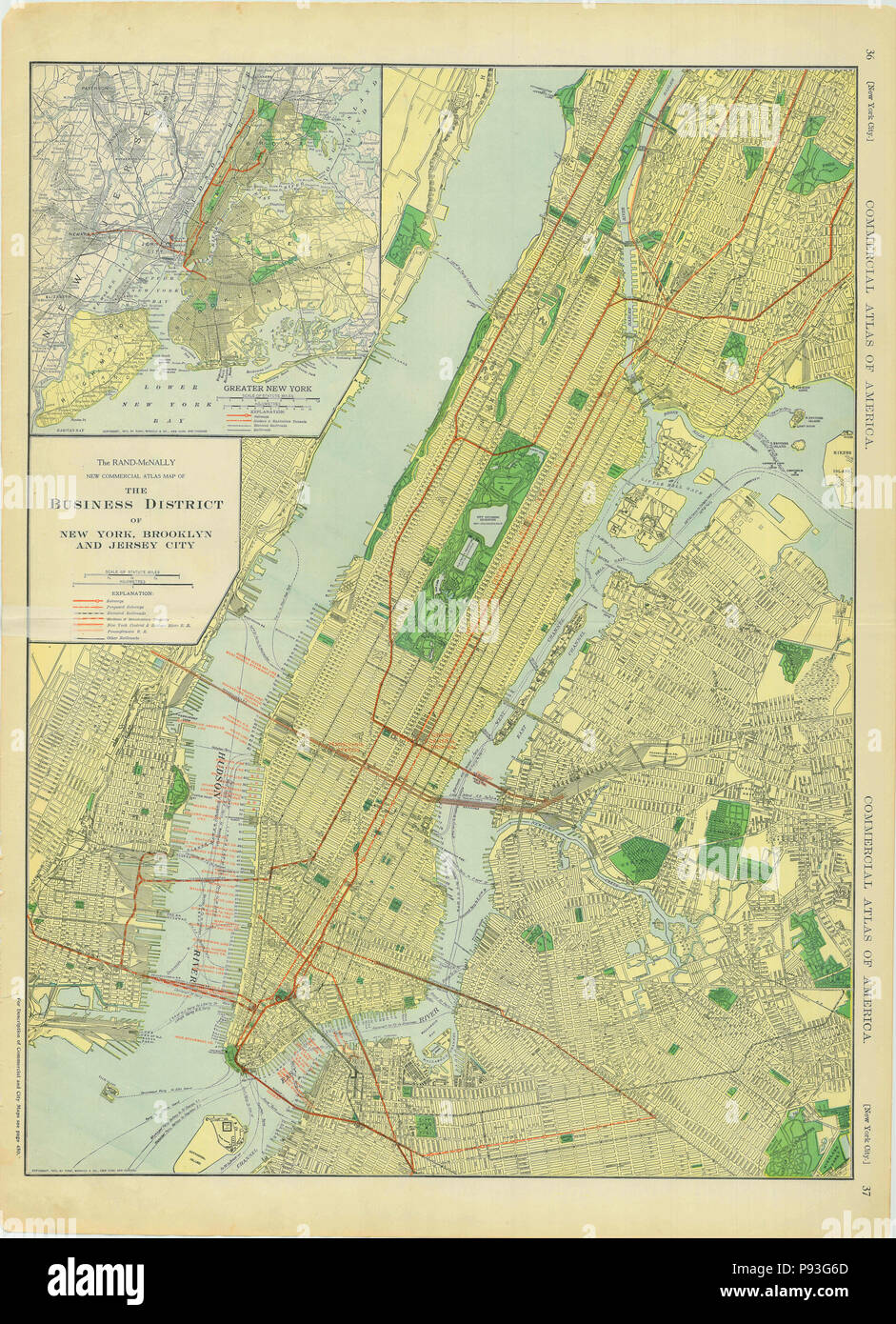 Map Of Greater New York City Area.Map Of New York City Stock Photos Map Of New York City Stock