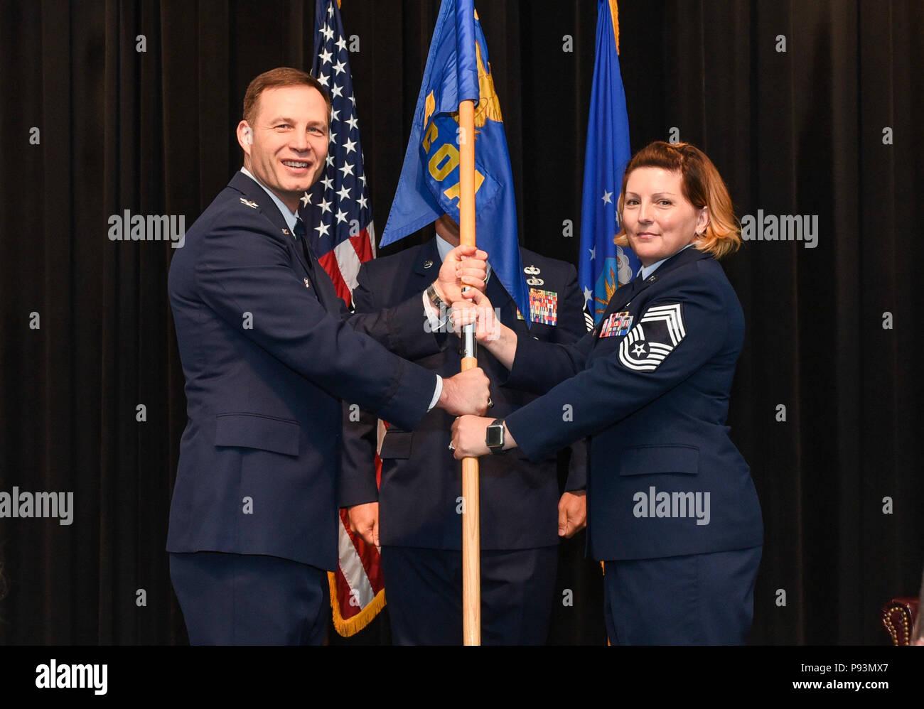 U.S. Air Force Col. James Dryjanski, Thomas N. Barnes ...