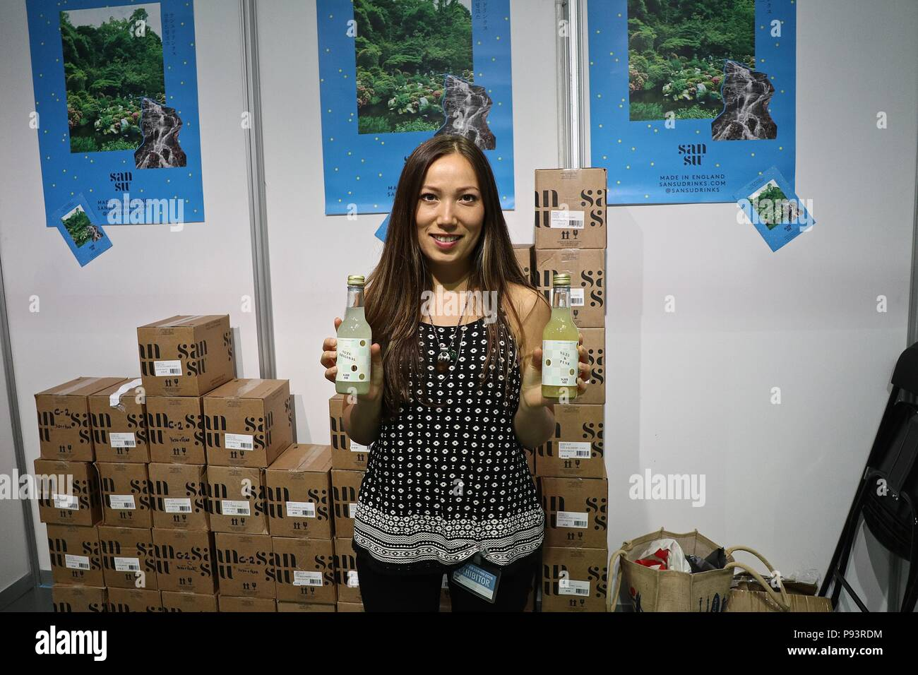 Hyper Japan 13 July 2018 OLYMPIA LONDON - Stock Image