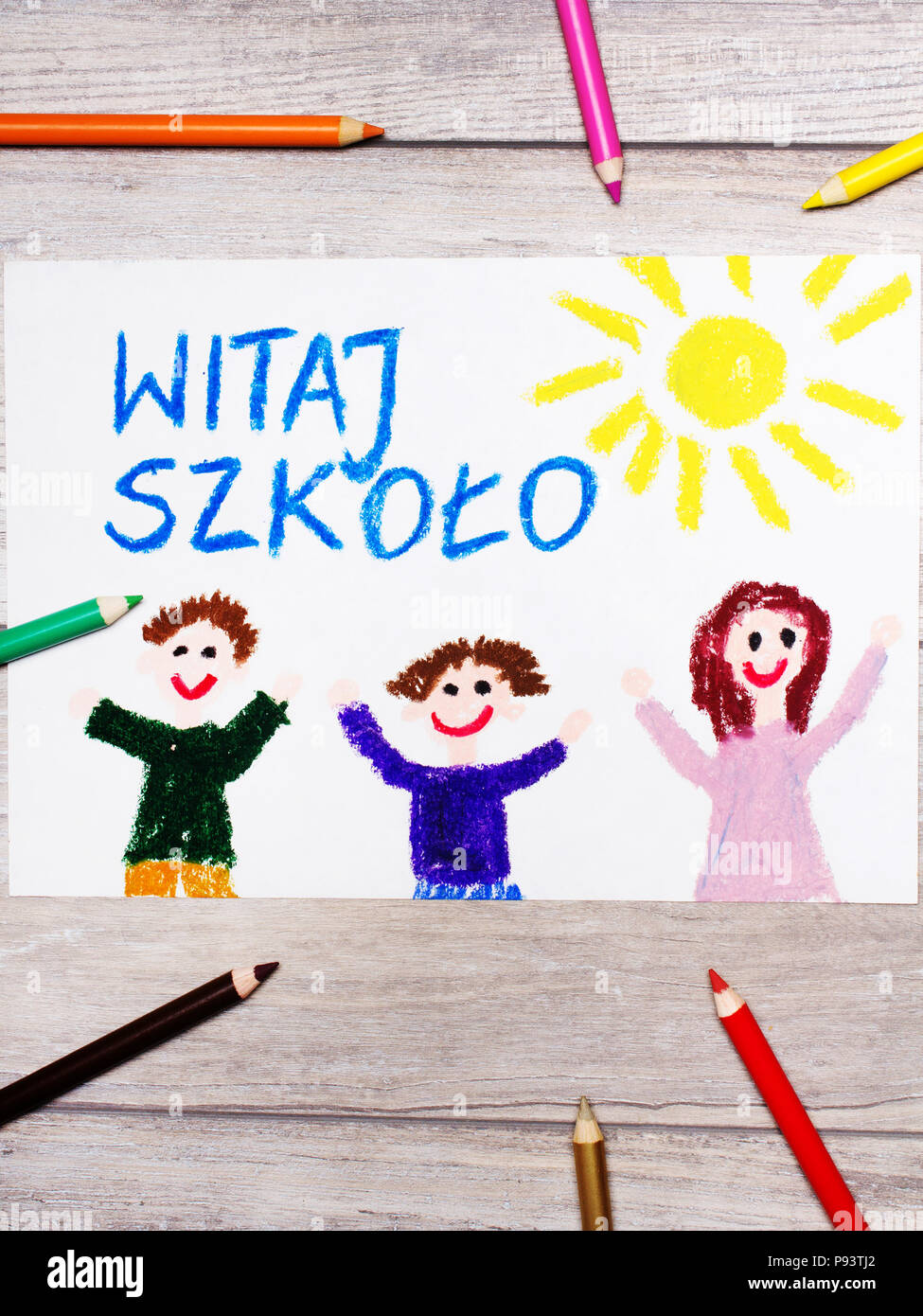 Welcome Back Kids Stock Photos & Welcome Back Kids Stock Images - Alamy