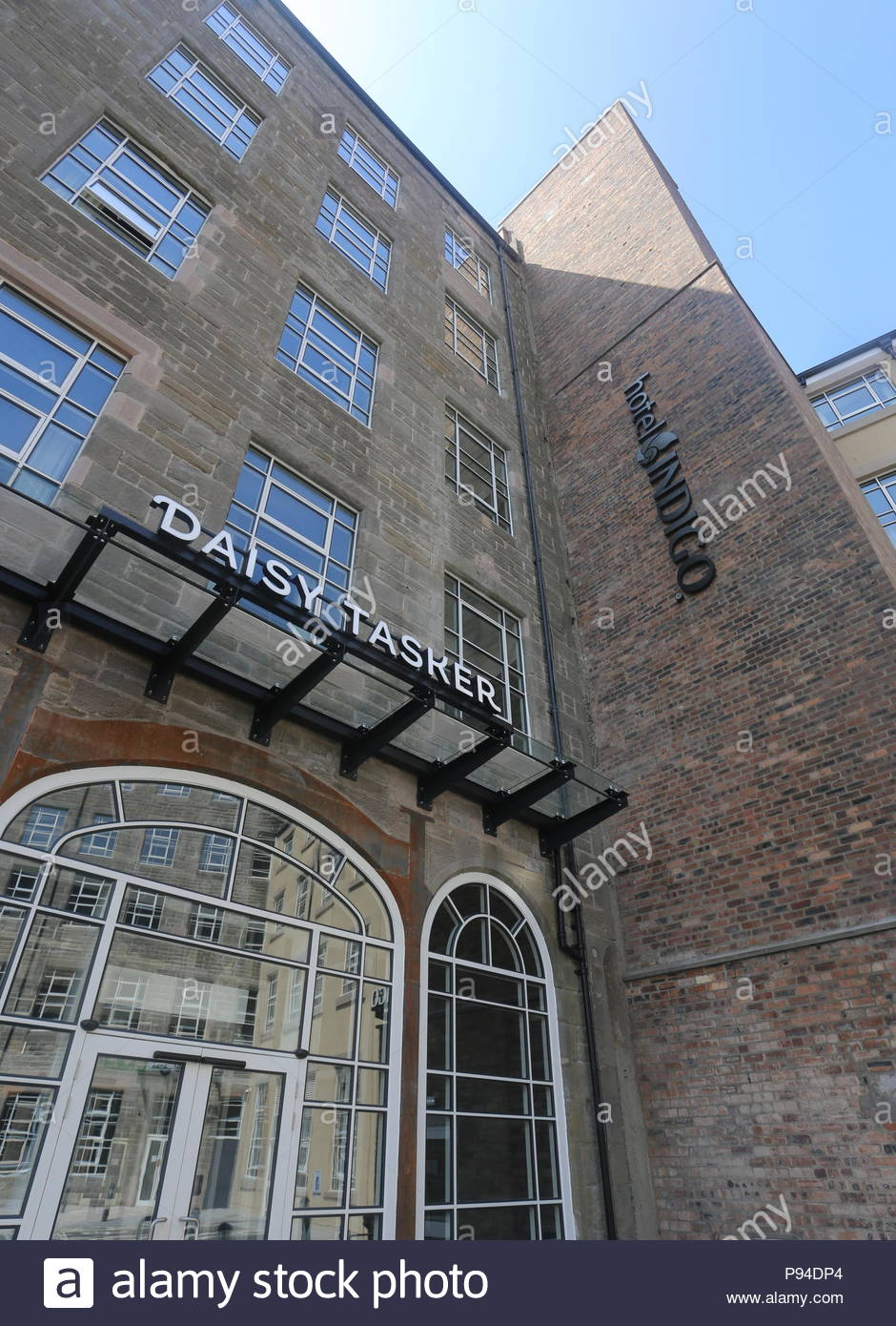 Sign for Daisy Tasker Dundee Scotland  July 2018 - Stock Image